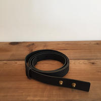 《evam eva》leather belt  20mm