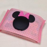 おしりふきケース*ピンク水玉×ミニーちゃん