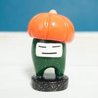 【 秋 かぼちゃ 】ハロウィン 気分 イロオトコ  スタンド 自立するかわいい子