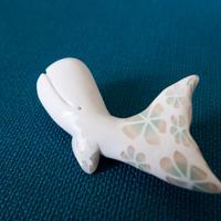 【 廻游くじら 】クジラのブローチ  no.1163B