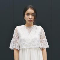 【予約商品】100606 / レース×シフォン セパレートドレス