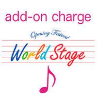 ワールドステージ追加メンバー(11人目以降)出演料(商品の配送はありません)