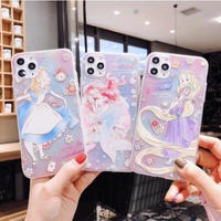 輸入雑貨 ディズニー プリンセス iphone 11 Pro MAX 最大種類 iphone 8 7 7-plus フェミニンカラー