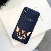 輸入雑貨 Myペット Dog  犬 ケータイカバー iphone XR XsMAX 最大種類 iphone 8 7 6 6 s-plus チワワ
