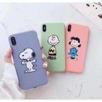 輸入雑貨 スヌーピー トリオ 春色 snoopy ケータイカバー  iphone XR XsMAX 最大種類 iphone 8 7 6 6 s-plus