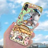 輸入雑貨 トトロ  totoro ファミリー iphone 11 Pro MAX ケース 最大種類 iphone 8 7 6 6 s-plus トトロネコバス