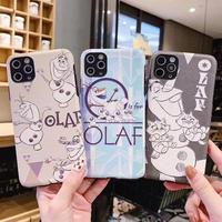 輸入雑貨 アナ雪 オラフ iphone 11 Pro MAX 最大種類 iphone 8 7 6 6s-plus  プリンセス アナ エルサ オラフ ディズニー アナ雪 2