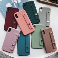 輸入雑貨 大人可愛いキャンディーカラーリストバンド  iphone 11 Pro MAX 最大種類 iphone 8 7 6 plus シンプルiPhoneケース