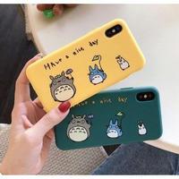 輸入雑貨 トトロ ケータイケース totoro ケータイカバー  iphone XR ケース 最大種類 iphone 8 7 6 6 s-plus 3匹トトロ