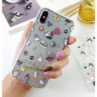 輸入雑貨 トトロ ケータイケース totoro ケータイカバー  iphone XR ケース 最大種類 iphone 8 7 6 6 s-plus トトロ仲間たち 6