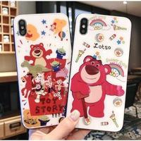 輸入雑貨 ディズニー トイストーリー 仲間たち iphone XR XsMAX 最大種類 iphone 8 7 6 6 s  ロッツォ Toy2