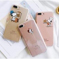 輸入雑貨 スヌーピー クリア 2 Snoopy iphone 11 Pro MAX ケース 最大種類 iphone 8 7 6 5 5s SE-plus
