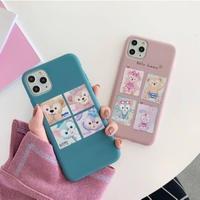 輸入雑貨 ダッフィー♡仲間たち ディズニー iphone 11 Pro MAX 最大種類 iphone 8 7 7p ダッフィー5