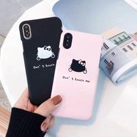 輸入雑貨  キティー ツンデレ Hello Kittyスマホケース  iphone X Xs 最大種類 iphone 8 7 6 6 s  ハローキティー