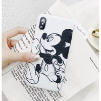 輸入雑貨 ミッキー ミニー ディズニー ケータイカバー  iphone XR XsMAX 最大種類 iphone 8 7 6 6 s-plus カップル ミッキーD