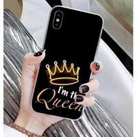 輸入雑貨 Queen ティアラ  iphone 11 Pro MAX 最大種類 iphone 8 7 6 6 s-plus スマホケース  ティアラA5