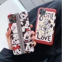 輸入雑貨 ミッキー 仲間たち ディズニー iphone 11 Pro MAX 最大種類 iphone 8 7 7plus オシャレ フィルム
