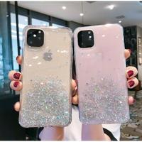 輸入雑貨 グリッター 4coler シンプル キラキラ  iphone 11 11Pro 11ProMAX 最新機種 iPhoneケース