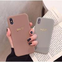 輸入雑貨 大人シンプル me♡you  iphone 11 Pro MAX 最大種類 iphone 8 7 6 plus iPhoneケース