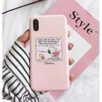輸入雑貨 スヌーピー ケータイケース snoopy ケータイカバー  iphone XR XsMAX 最大種類 iphone 8 7 6 6 s-plus スイカ ベビーピンク