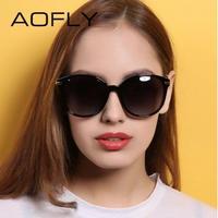 【4color】AOFLY 2019新作 海外人気ブランド レディース偏光サングラス UV400 デザイナー ヴィンテージ