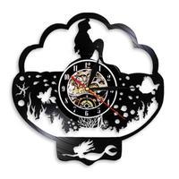 輸入雑貨 アリエル ディズニー 30cm レコード盤 壁掛け時計 アニメ 映画 人気  インテリア ディスプレイ 7