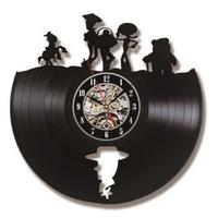 輸入雑貨 トイストーリー 30cm レコード盤 壁掛け時計 アニメ 映画 人気  インテリア ディスプレイ 2種類展開 1