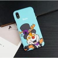 輸入雑貨 ディズニー 仲間たち  ケータイカバー  iphone X 最大種類 iphone 8 7 6 6 s-plus パーティー デール