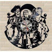 NEW 輸入雑貨 トイストーリー4 30cm レコード盤 壁掛け時計 アニメ 映画 人気 インテリア ディスプレイ