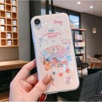 輸入雑貨 ダッフィー 仲間たちパーティー iphone 11 Pro MAX 最大種類 8 7 6 6 s  ダッフィーパーティー ディズニー