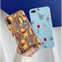 輸入雑貨 ディズニー ドット プーさん仲間たち  iphone XR XsMAX 最大種類 iphone 8 7 6 6 s  ドット