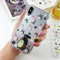 輸入雑貨 トトロ  totoro   iphone 11 Pro MAX ケース 最大種類 iphone 8 7 6 6 s-plus トトロ仲間たち 4
