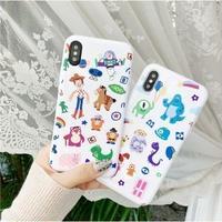 輸入雑貨 トイストーリー&モンスターズインク iphone XR XsMAX 最大種類 iphone 8 7 6 6 s  ディズニー ピクサー