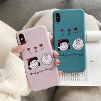 輸入雑貨 スヌーピー snoopy iphone XR XsMAX ケース 最大種類 iphone 8 7 6 6 s-plus チャーリーサリー