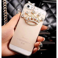 輸入雑貨 Princess ラインストーンティアラ  iphone 11 Pro MAX 最大種類 iphone 8 7 6 5 s-plus スマホケース  ティアラ ゴールド