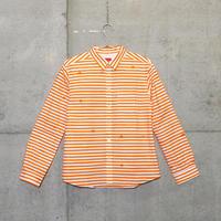 シャツ『ミズタマ』オレンジ_1