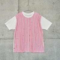 シャツTシャツ『ミズタマ』ピンク_6