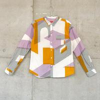 シャツ『フルイマチ』オレンジ_2_c