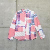 シャツ『シマナミ』ピンク_1