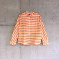 シャツ『ミズタマ』オレンジ_2