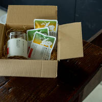 柿の葉茶メレンゲと柿の葉茶3種の詰合せ