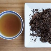 柿の葉茶 薪火焙煎深煎(リーフ 100g)