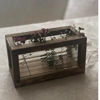 古いガラスのボックス