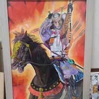 鎌倉権五郎景政公のイメージ画 -木村周画伯-