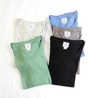 【Kamakura Rhythm】鎌倉リズムオリジナルレディース7分袖シャツ   ◆  やさしい肌ざわりのデイリーカットソー