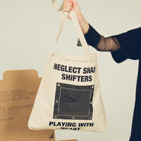 「NEGLECT SHAPE SHiFTERS Limited Edition」 TOTE BAG