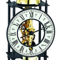 ヘルムレ 時打ち置時計(14日巻き)ブラック/ブラック 23001-000711