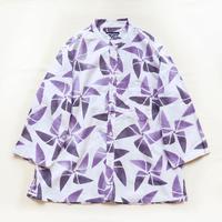 【晒シャツ】レディース向け七分袖 かざぐるま