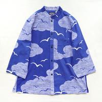 【晒シャツ】レディース向け七分袖 かもめ