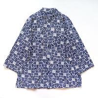 【晒シャツ】レディース向け七分袖 クレマチス